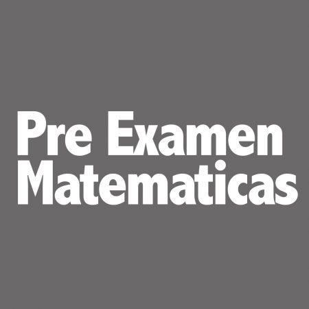 GED Matematicas Pre Examen